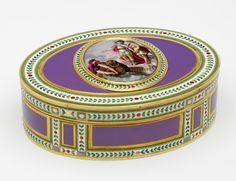 Snuffbox, Joseph-Etienne Blerzy, 1786-7, Paris, museum no. Loan:Gilbert.1030-2008 | The Rosalinde and Arthur Gilbert Collection on loan to the Victoria and Albert Museum, London