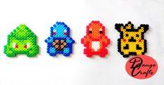 Pokemon Perler Magnets Badges