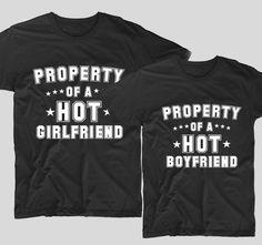 Tricourile cu mesaje pentru cuplurile de indragostiti sunt perfecte ca tu si partenerul tau sa va aratati dragostea unul fata de celalalt. Fie ca decizi sa le cumperi pentru iubitul sau iubita ta, tricourile cu mesaje haios precum acestea, Property of a hot Boyfriend si Property of a Hot Girldfriend sunt ideale pentru a-ti surprinde partenerul. Girlfriends, Sweatshirts, Sweaters, T Shirt, Tops, Women, Fashion, Supreme T Shirt, Moda