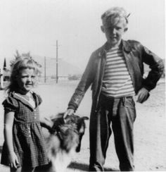 Harry Nilsson and his Sis