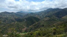 Vista desde el paseo a la Virgen de Torcoroma en Ocaña - Norte de Santander