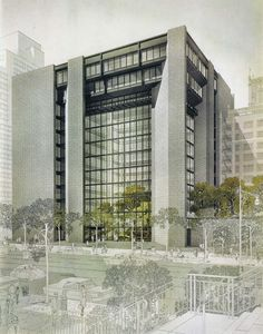 Ford Foundation Headquarters, New York City, 1963-68 (Kevin Roche John Dinkeloo Associates)