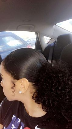 hairstyles 2018 naturally curly hairstyles hairstyles haircut hairstyles with weave hairstyles oval face shape hairstyles indian hair hairstyles hairstyles middle part Baddie Hairstyles, Pretty Hairstyles, Hairstyle Ideas, Asian Hairstyles, Simple Curly Hairstyles, 1980s Hairstyles, Mixed Girl Hairstyles, Quince Hairstyles, Slick Hairstyles