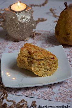 Cake à la sucrine du Berry et aux poires | Marmotte cuisine !