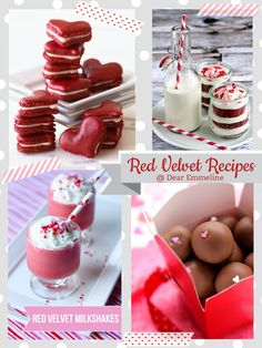 Dear Emmeline - red velvet recipes