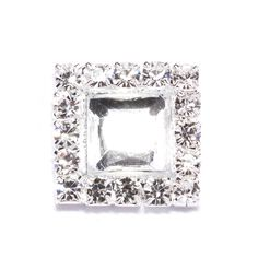 Find this stunning diamante flat back at totallydazzled.com for only $0.97! We ship within one business day. Visit us online today to view our wide collection of rhinestone products to make your special day stand out!