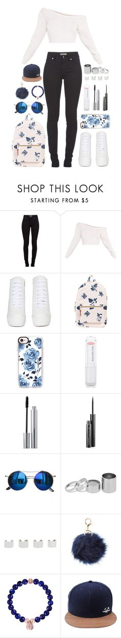 """""""I need you baby"""" by iarsotelo ❤ liked on Polyvore featuring beauty, Burberry, Jeffrey Campbell, Herschel Supply Co., Casetify, shu uemura, Clinique, MAC Cosmetics, Chicnova Fashion and Betty Jackson"""