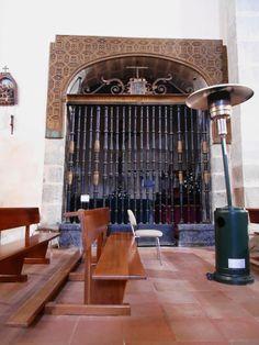 Iglesia de Santiago Apostol. Capilla en el lado del evangelio.