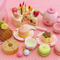 Toy Kitchen Accessories, Doll Accessories, Toys For Girls, Kids Toys, Lunch Box Containers, Play Food Set, Kawaii Dessert, Baking Set, Cute Kawaii Drawings