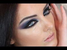 Arab Eye Makeup Make Up Arab Party Means Arab Eyes Arab Eye Makeup Arab Eye Makeup Makeup Styles. Sexy Eye Makeup, Eye Makeup Art, Blue Eye Makeup, Makeup For Brown Eyes, Arabic Makeup Tutorial, Smokey Eye Makeup Tutorial, Red Make Up, Make Up Gold, Haifa Wehbe