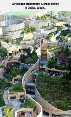 Beautiful Parkitecture en Osaka, Japón