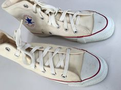 Converse All Star Chuck Taylor USA Natural White by mightyMODERN