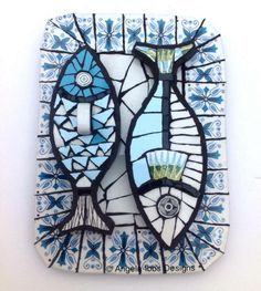 Angela Ibbs mosaic fish art