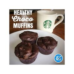HEALTHY CHOCO MUFFINS - Powered by @ultimaterecipe