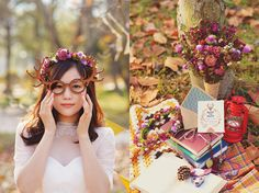 Vintage autumn Wedding