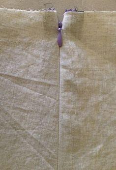 cómo coser una cremallera invisible.
