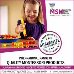Mighty Khalsa International School #SriAnandpurSahib #Punjab #TopSchool #BestSchoolinSriAnandpurSahib #GlobalSchool  Contact : +91 1887 232214, 8146468880 Montessori Materials, First They Came