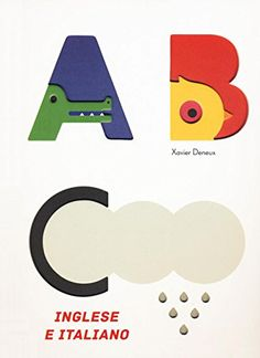 Un libro cartonato con parti tattili per imparare l'alfabeto in modo facile e diverente. Parole sia in inglese sia in italiano. da 3 anni.