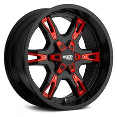 Moto Metal Wheel - Bolt Pattern Backspacing Offset 0 - Satin Black with Red Accents Jeeps Jeep Rims, Jeep Wheels, Truck Rims, Truck Wheels, Chevy Trucks, Car Rims, Rims For Trucks, Racing Rims, Nissan Trucks