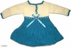 Sweaters Trendy Wollen Girl's Sweaters Fabric: Wool Sleeves: Full Sleeves Are Included Size: Age Group - 12 To 18 Months 18 To 24 Months Type: Stitched Description: It Has 1 Piece Of Girl's Sweater Cum Frock Work: Woven Country of Origin: India Sizes Available: 2-3 Years, 12-18 Months, 18-24 Months, 1-2 Years   Catalog Rating: ★4.2 (237)  Catalog Name: Free Mask Little Princess Beautiful Woollen Sweater Vol 1 CatalogID_58114 C62-SC1149 Code: 514-524953-4401