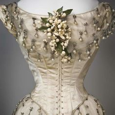 1800 Wedding Dress....