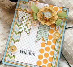 LOVE this card by Audrey Pettit!    Birthday Wishes3