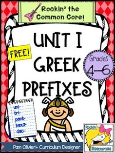 Greek+and+Latin+Study-+Unit+1+freebieWhy+introduce+Greek+and+Latin+roots+and+affixes+to+your+students?++They+are+the+building+blocks+of+the+English+language!++It+helps+your+students+with+word+means+and+spelling+conventions.++They+will+learn+how+to+break+down+larger+words+in+their+reading.