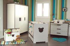 Chambre à coucher bébé | Petit ourson dans la chambre d'enfant... - Lit bébé pour de jolis ...