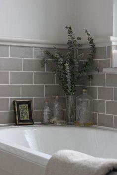 Subway tiles application for your bathroom (1) #bathroomdesign