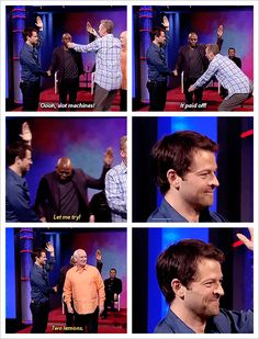 I'm only pinning this because I believe that Misha Collins is in this