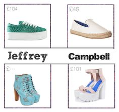 Jeffrey Campbell by claudiadarcy101 on Polyvore featuring polyvore, fashion, style and Jeffrey Campbell. I hope you like the set ! Follow and like to see more !   Instagram : _polyvore_fashionista101_ Polyvore : claudiadarcy101