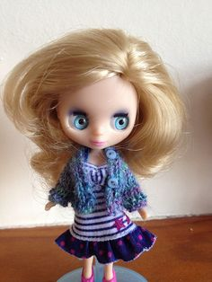 A tiny Petite Blythe sweater pattern. by Everyone needs a Tia, via Flickr
