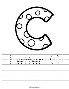 letter c coloring pages - Letter C Coloring Pages For Toddlers