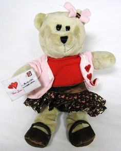 Starbucks Bearista Bear 102 Ed. 2011 Valentines Day Plush True Love Girl Teddy in Collectibles, Advertising, Food & Beverage | eBay