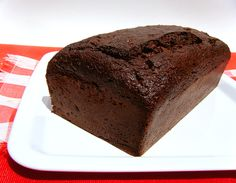 Healthy Chocolate Zucchini Bread -- sugar free, low carb and gluten free--and it is YUMMY!