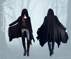 Phantom lovely: embrace your elegant dark and ghostly side ··· | ··· Your Fantasy Costume