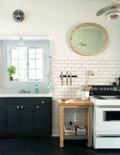 Fab DIY kitchen makeover, featured on @POPSUGAR Home