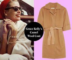 Grace Kelly Kamelhaarmantel 45