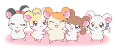 Hamtaro Hamtaro, Cartoon Profile Pics, Hams, Cute Animal Drawings, Kawaii Art, Girls Life, Anime Shows, Sleepover, Me Me Me Anime