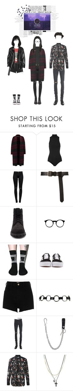 """""""VEXED V LIVE CHANNEL OPENING"""" by officialvexed ❤ liked on Polyvore featuring Rochas, Fleur du Mal, J Brand, Timberland, Lazy Oaf, Vans, River Island, Yves Saint Laurent, Dsquared2 and Dolce&Gabbana"""