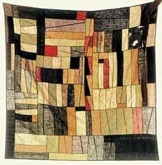 Korea - scarf-like bag called Bojagi. Heodonghwa cloth embroidery museum - posted on LEEUMW Quilt Modernen, Art Textile, Japanese Textiles, Fabric Art, Quilting Fabric, Quilting Patterns, Korean Art, Korean Traditional, Fiber Art