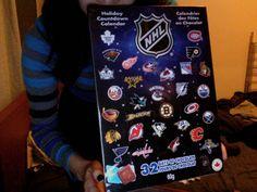 NHL advent calendar | The Hockey Junkies: Christmas NHL Style