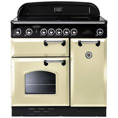 Rangemaster Electric oven with ceramic hob. If I can only get electric then this is the hob I want!