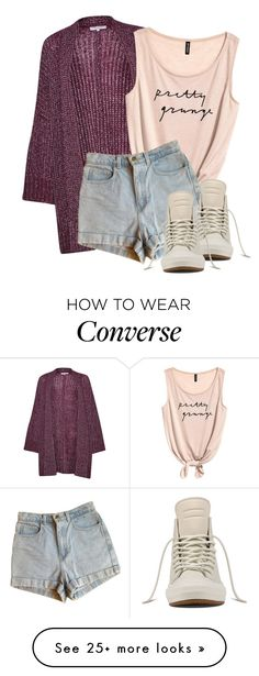 """""""Untitled #169"""" by mmspls on Polyvore featuring Great Plains, American Apparel and Converse"""