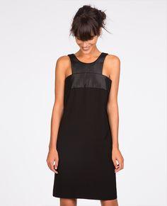 Fabric blend dress   Dresses   Comptoir des Cotonniers