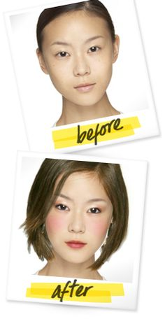 Give yourself a virtual makeover!