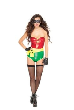 Sultry Sidekick Robin Costume
