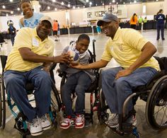 As part of each National Veterans Wheelchair Games (NVWG), one morning is set aside as Kids Day, when local kids with disabilities can show ...