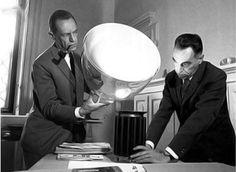 Lámpara Taccia de Achille y Pier Giacomo Castiglioni para Flos