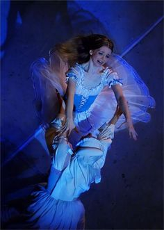 """Evgenia Obraztsova in """"Giselle,"""" when she was still with the Mariinsky Ballet. Photo by Mark Olich."""